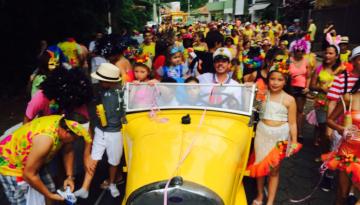 Carnaval e Cacique do Santa Amália