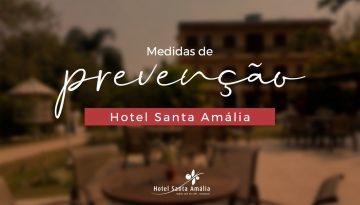 Medidas de Prevenção do Hotel Santa Amália